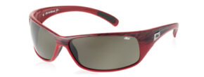 Bollé Recoil --- Frame: Red Textile --- Lenses: Polarized Grey