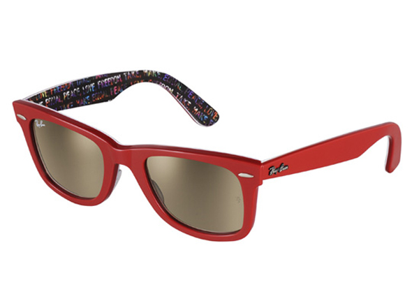 aa10821033a Ray Ban Sunglasses Wayfarer Rare Print Color Frame