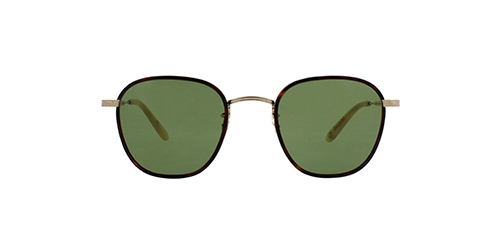 frame: grant | color: Amber Tortoise- Gold Honey Blonde/Pure-Green