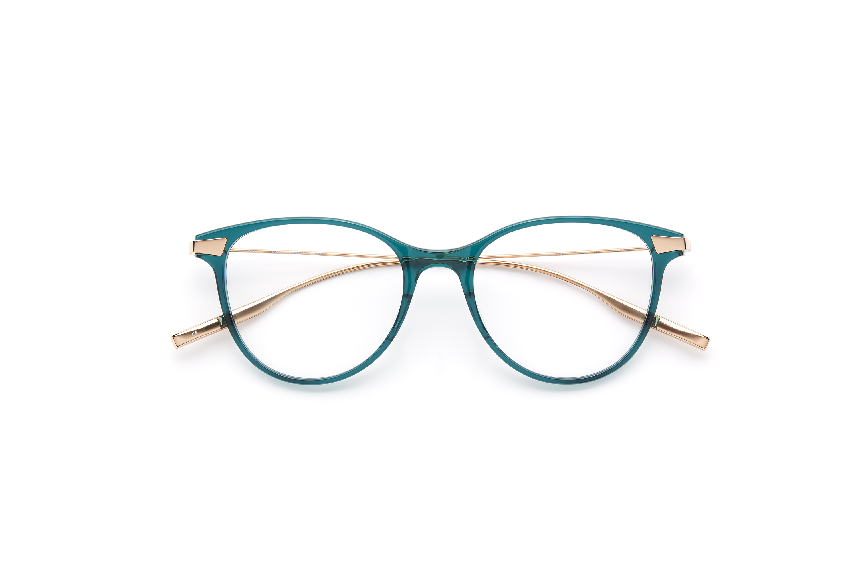 SALT. | frame: ANELA in Teal/Honey Gold