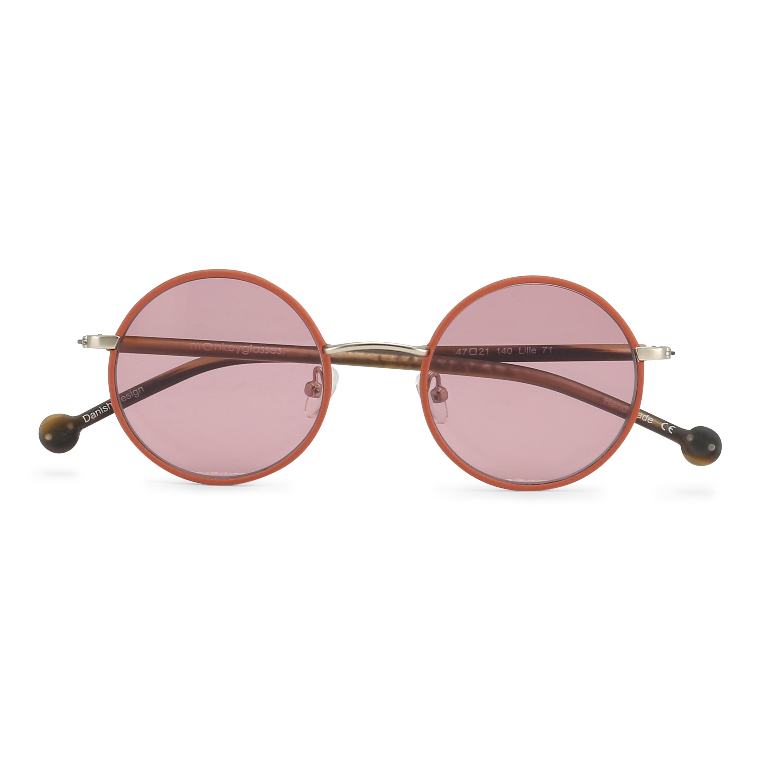 monkeyglasses® | frame: Lille71 in papayaSun