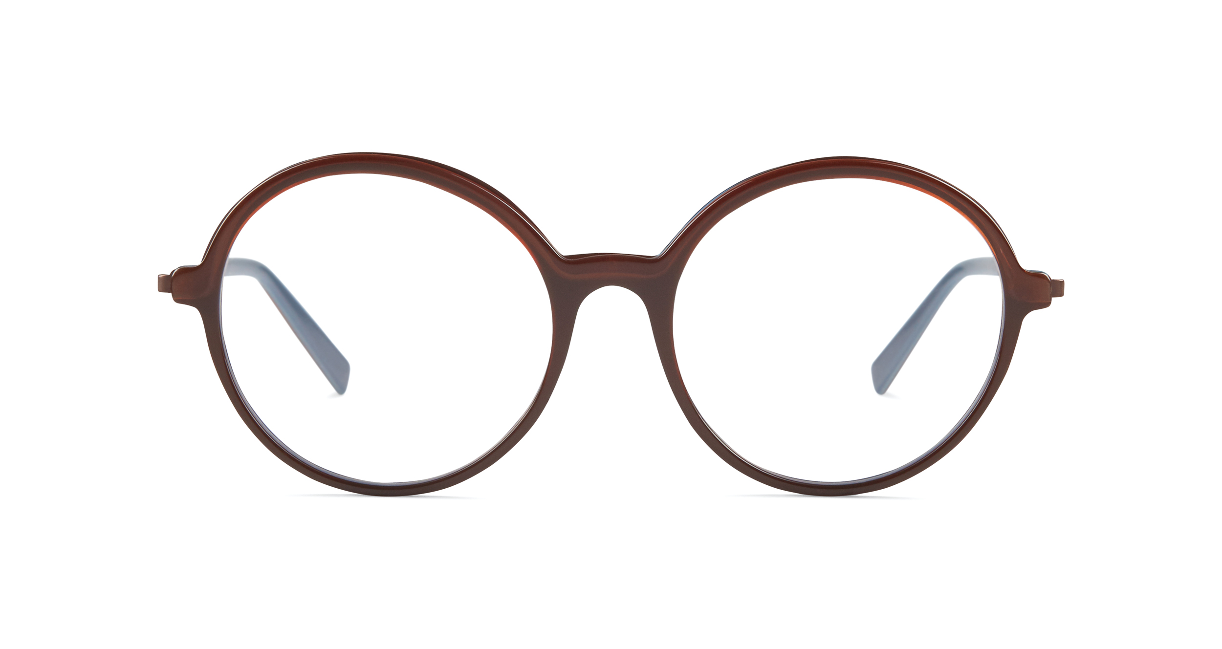 FLEYE | frame: page in burgundy brown, copper