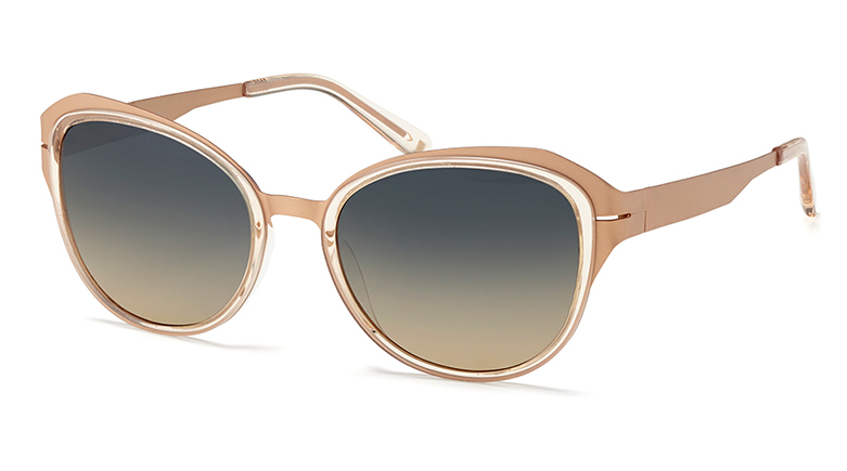 MODO | Paper-Thin Acetate Sun | mod. 451 color: Nude Crystal