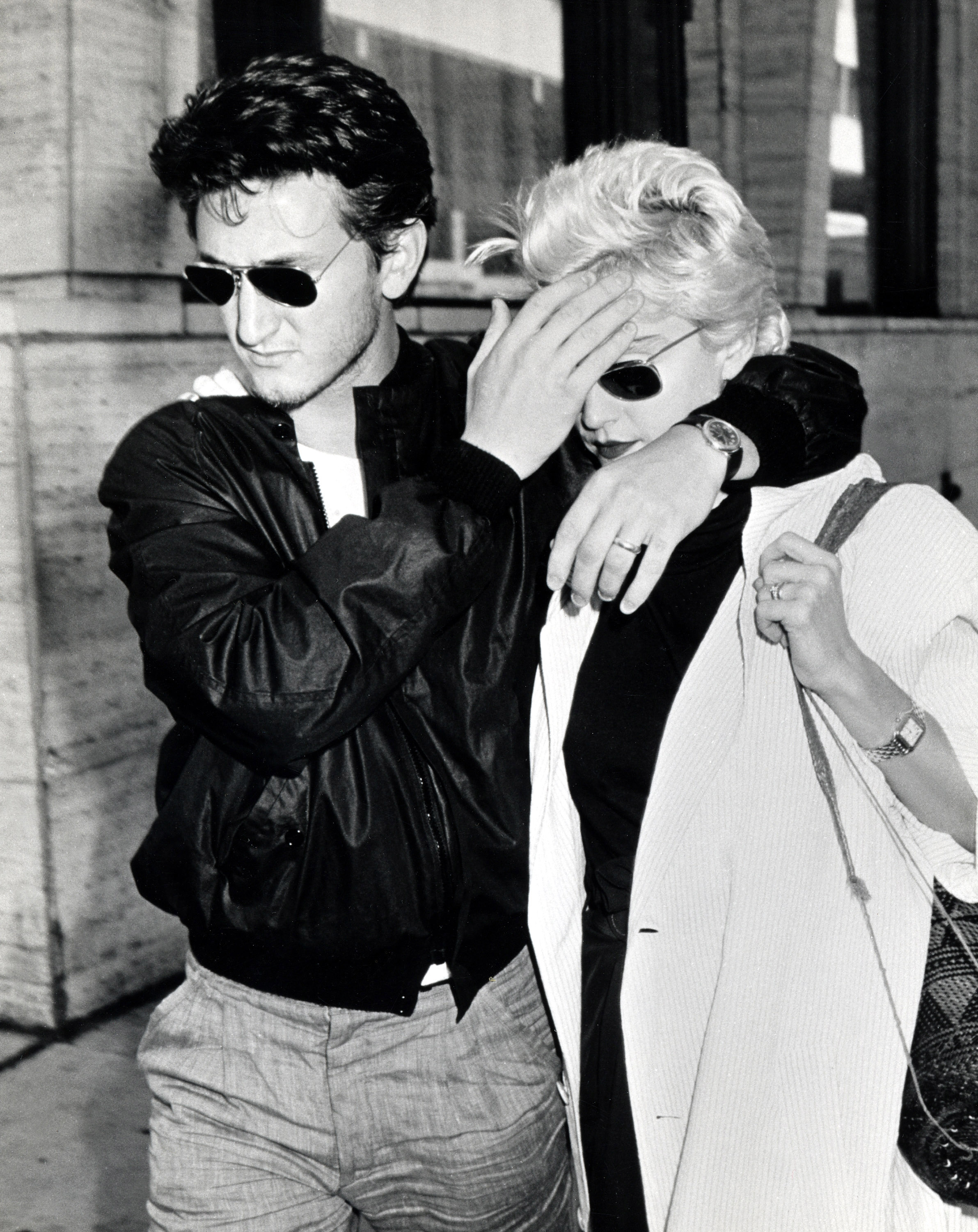 Sean Penn and Madonna (Photo by Ron Galella/WireImage)