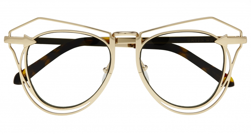 KAREN WALKER: METALS CLEAR LENS