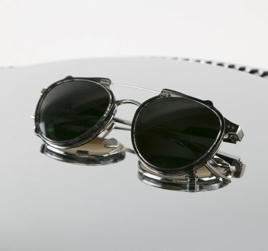 CEYLON | 12k Silver with slate clip
