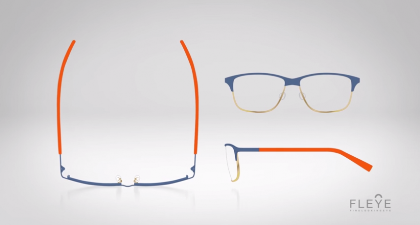 FLEYE: Lightweight Danish glasses
