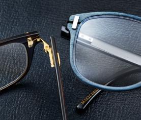 Hoffmann Natural Eyewear: Horn & Wood Delight