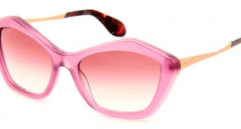Miu Miu: Pink Glasses