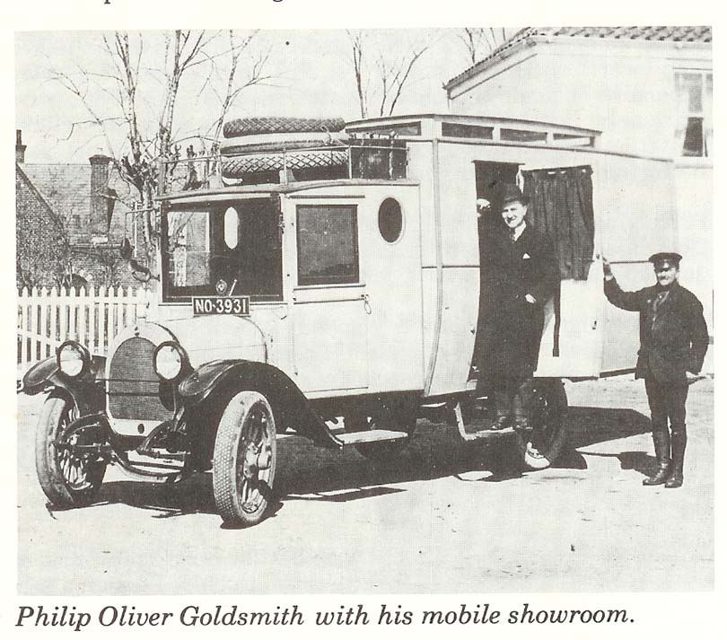 Mobile Showroom 1926