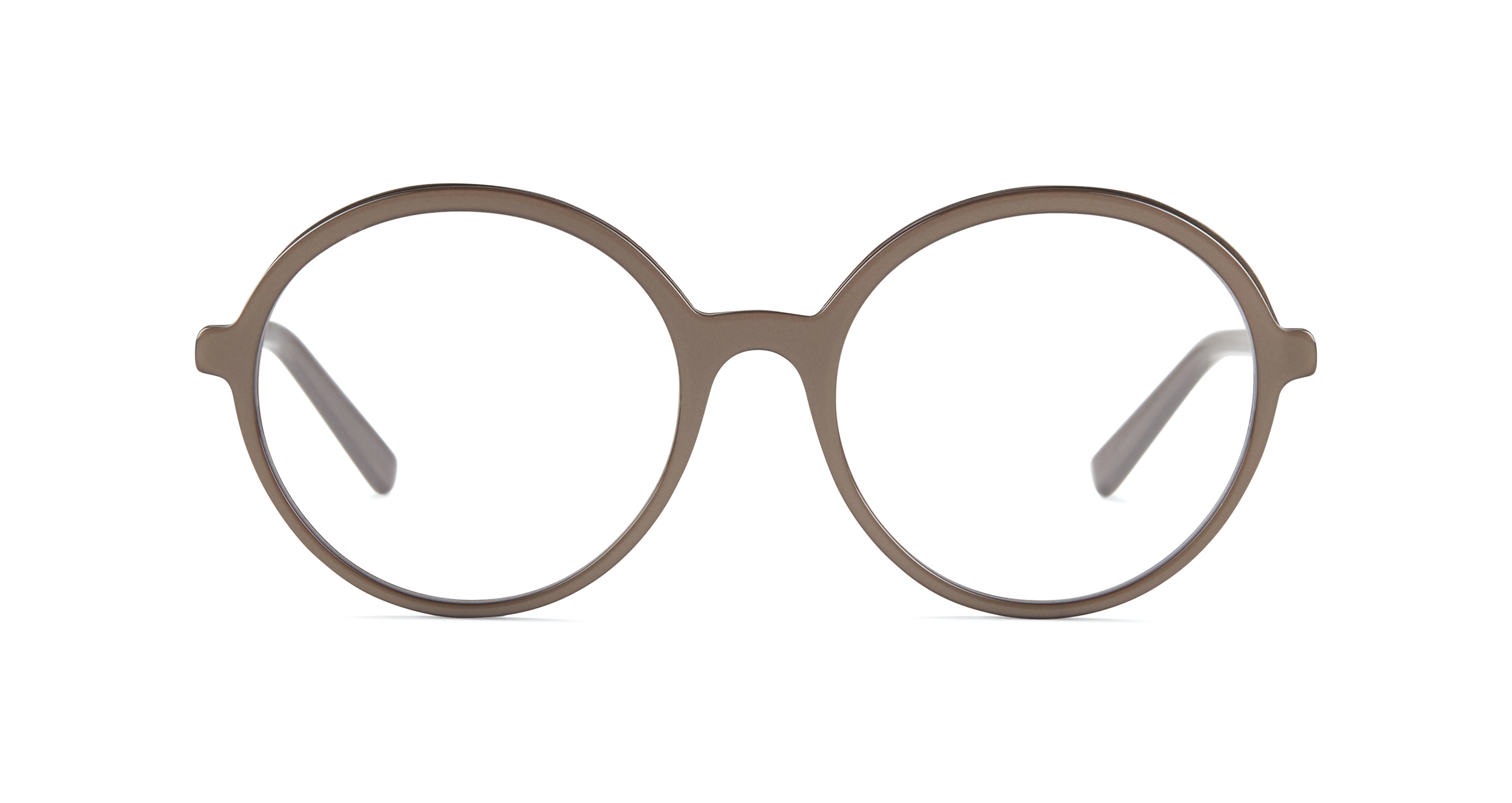 FLEYE | frame: page in 4010 Taupe, Shiny Charcoal