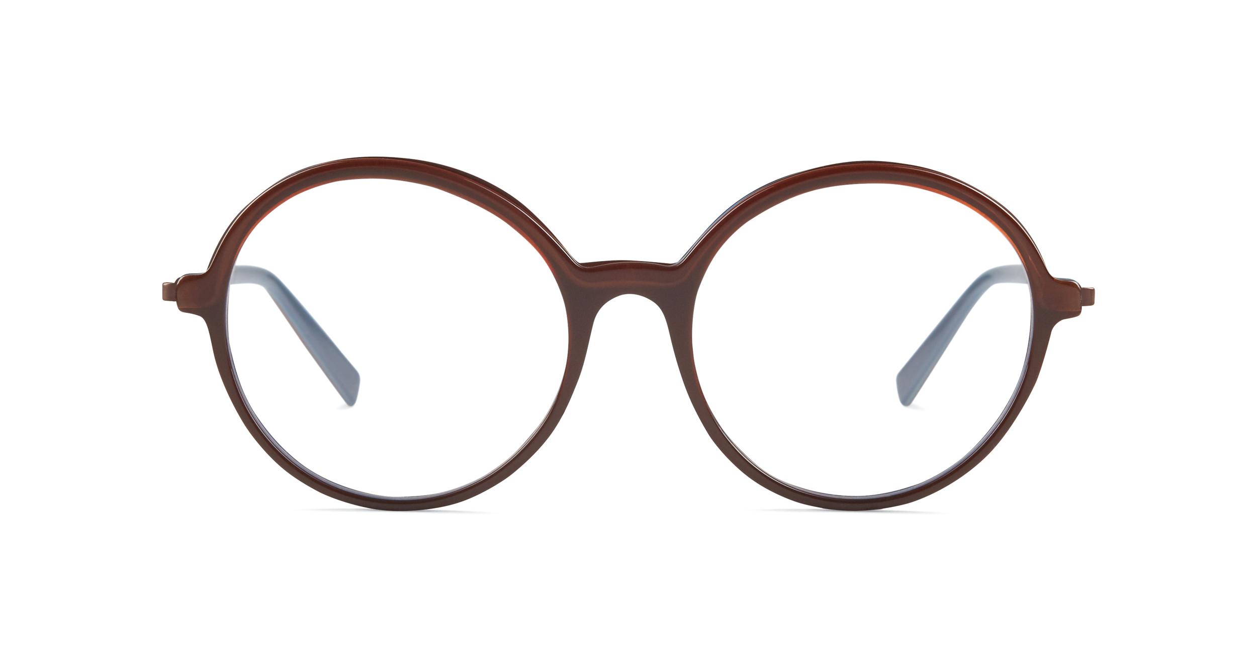FLEYE | frame: page in burgundy brown, copper
