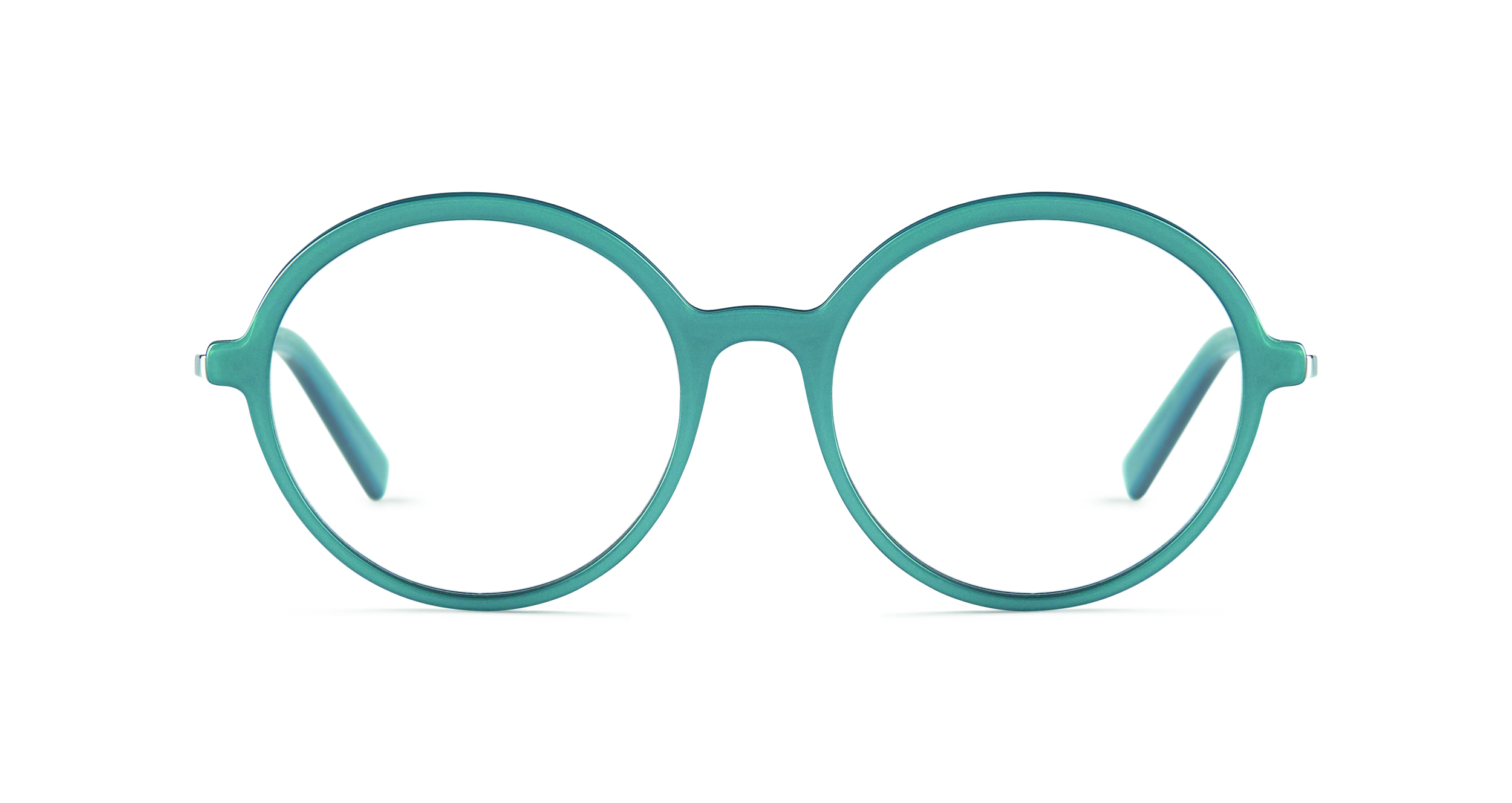 FLEYE | frame: Page in 1014 Blue Petrol, Shiny White Gold