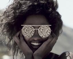D'ARTISTE: the new Giorgio Armani sunglasses for SS 2018