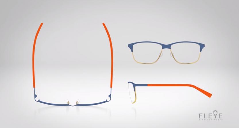 FLEYE: Lightweight Danish glasses