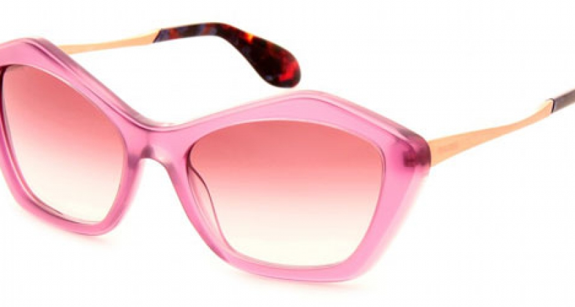 Miu Miu: Pink Glasses