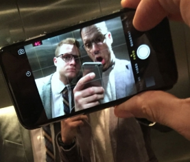 Selfiesession: Ralph Anderl & Adrian Marwitz
